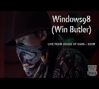 DJ Windows98 (Win Butler) performs at SXSW
