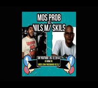 DLTLLY // English Rap Battle // Nils m/ Skills vs Mos Prob