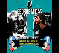 DLTLLY // Rap Battle // George Midas vs RV