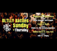 DLTLLY // RAP BATTLE // Highlights 'Beats, Bars & Battles' Session 5