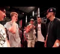 DLTLLY // Rap Battles (2on2) // Brian Damage   Philipp Quh vs  Mighty Mo   Nedal Nib