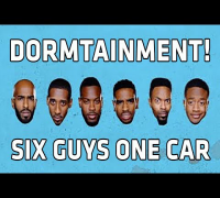 "Dormtainment ""Six Guys One Car"" Comedy Central Collab! - EXCLUSIVE INTERVIEW"