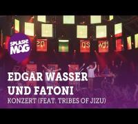 Edgar Wasser und Fatoni live auf der Desperados Aruba Stage