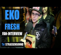 EKO FRESH Fan Interview: Charts, Kool Savas, Summer Cem, Massiv, B-Tight, TV Total, Tour, Sido