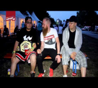 Elvis & Muro: 1on1 Freestyle Battle auf dem Out4Fame Festival (Interview) - Toxik trifft