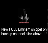 Eminem Guts over fear new snippet