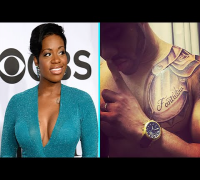 Fantasia's Rumored Husband Tattoos Her Name On His Chest!