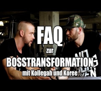 FAQ zur BOSSTRANSFORMATION - Interview mit Kollegah und Koree (Fragen aus den Kommentaren)