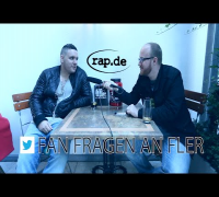FLER beantwortet Twitter Fan Fragen (rap.de-TV)