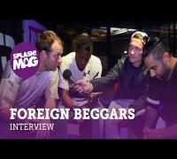 Foreign Beggars über Gigs in Deutschland, die UK-Rapszene & zukünftige Projekte (splash! Mag TV)