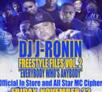 Freestyle Files vol.2 In Store   All Star MC Cipher Friday Nov. 22nd @ Black Star 352 Lennox Ave