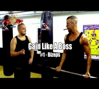 GAIN LIKE A BOSS #1 - Bizeps