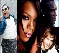 Gangnam Style - Akon , Rihanna , David Guetta ( New Song 2014 )