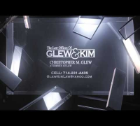 Glew Kim Law Commercial by Penagon Films