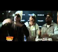 GunPlay & Torch 'Low Life' In Studio Performance at Shade45 wit/ DJKaySlay