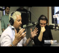 GUY FIERI vs DJ WHOO KID & DJ BORGEOUS on the WHOOLYWOOD SHUFFLE at SHADE 45
