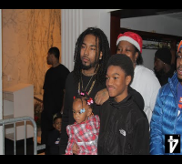 IceWear Vezzo & Shanell (SNL) of YMCMB give back to the kids of Detroit