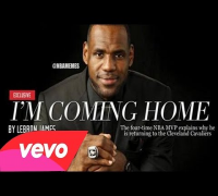 """Im Coming Home"" Lebron James Returning to Cleveland Cavaliers"