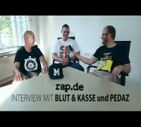 """Interview: BLUT & KASSE und PEDAZ über """"100% Macher"""" (rap.de-TV)"""