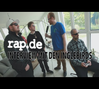 Interview: DCVDNS, HERMANN WEISS und WOLFGANG H sind die INGLEBIRDS (rap.de-TV)