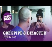 Interview: Gregpipe trifft Dizaster vor dem RAM-Battle gegen Damion Davis (splash! Mag TV)