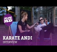 Interview: Karate Andi mit Gulaschteller und Prosecco Gin (splash! Mag TV)