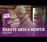 Interview: Karate Andi & Mortis testen Billigbier (splash! Mag TV)