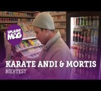 Interview: Karate Andi & Mortis testen Billigbier (splash! Mag TV)