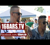"Interview: Kollegah, Farid Bang & Majoe auf dem ""Out4Fame-Festival"" (16BARS.TV)"