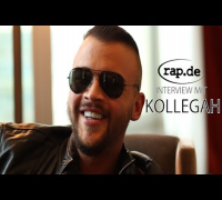 "Interview: KOLLEGAH über Kool Savas, Bushido, Kay One und ""King"" (rap.de-TV)"
