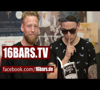 """Interview: Psaiko.Dino & Sebastian Schweizer über Cro und das Buch """"Easy Does It""""  (16BARS.TV)"""