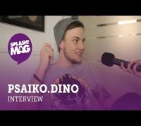 Interview: Psaiko.Dino über Haftbefehl, Praktika bei Chimperator und #hangster (splash! Mag TV)