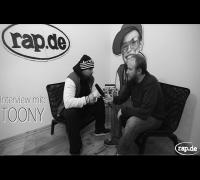"""Interview: TOONY über Fler, Kay One, sein Leben und sein Album """"Stabil"""" (rap.de-TV)"""