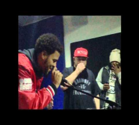J Cole stops by Statik Selektah's Showoff Radio on Shade 45 // Thanksgiving 2014