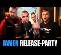 JAMEN Release Party zum Album Inhaftiert: John Webber, Minden, Knast, JVA, Ghettoparty, OWL, Rap