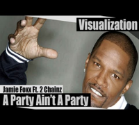 Jamie Foxx Ft. 2 Chainz - Party Aint A Party [Visualization]