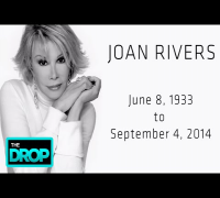 JOAN RIVERS DEAD AT 81 - Breaking News from ADD Presents: The Drop