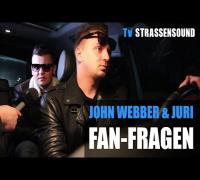 JOHN WEBBER & JURI Fan Fragen: Kollegah, Sun Diego, Spongebozz, Farid Bang, Osnabrück, Tour, Clooney