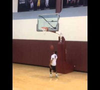 Johnny Manziel Dunking [HD]