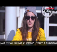 JOHNNY RAKETE - SHOUT - OUT4FAME FESTIVAL 2014