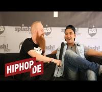 Joshi Mizu über Fußball und Pöbeleien auf der Bühne (Interview) - Toxik trifft (Splash 17)