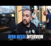 JUNKIE SCHLÄGEREI im AFRO HESSE INTERVIEW: Berlin Kreuzberg, Haftbefehl, Flüchtlinge, Splash