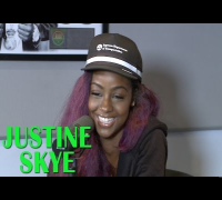 Justine Skye Talks Getting Record From DJ Mustard, Explains Cryptic Tweets, and More