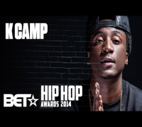 K Camp At The 2014 BET Hip-Hop Awards