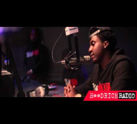 K Camp Visits Hoodrich Radio