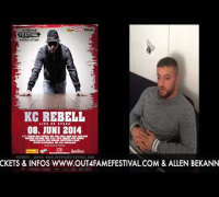 KC REBELL - SHOUT - OUT4FAME FESTIVAL 2014