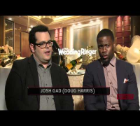 Kevin Hart & Josh Gad Discuss 'The Wedding Ringer'