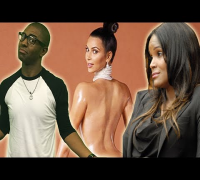 Kim Kardashian Breaks the Internet   Usher & Tameka Foster Sex Tape??