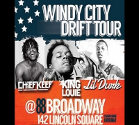 King Louie, Chief Keef, & Lil Durk at U Of I