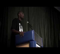Kobe Bryant Speaks At Trayvon Martin Crenshaw Event